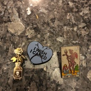 Strike Gently Co Pin Trio